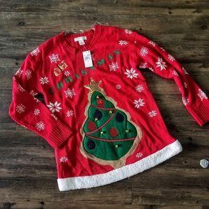 Ugly Christmas 3D Christmas Tree Sweater